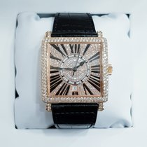 Franck Muller Or rose Remontage automatique Master Square occasion