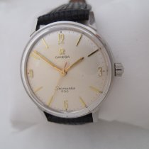 Omega Seamaster Steel 34mm White No numerals