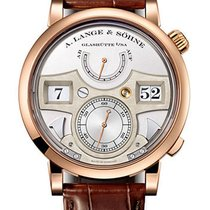 A. Lange & Söhne Zeitwerk Rose gold 44mm Black No numerals United States of America, New York, New York