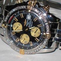 Breitling Acero Automático Negro Sin cifras 44mm usados Chronomat Evolution