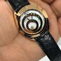 Chopard Happy Spirit Yellow gold 32mm Mother of pearl