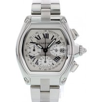 Cartier Roadster 2618 Very good Steel 43mm Automatic