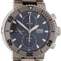 Oris Aquis Titan Chronograph 01 674 7655 7253-07 82675PEB neu