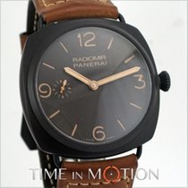 Panerai Radiomir 3 Days 47mm Acier 47mm Brun Arabes France, Paris