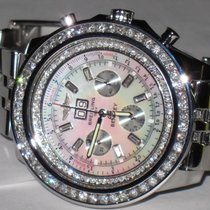 Breitling Bentley 6.75 Steel 49mm Mother of pearl No numerals United States of America, New York, NEW YORK CITY