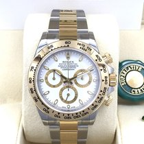 Rolex Cosmograph Daytona 116503 Gold Steel White Dial [NEW]
