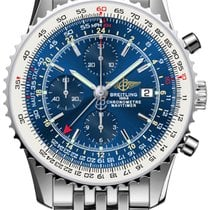 Breitling Men's A2432212/C651/443A Navitimer World Watch