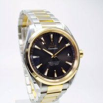 Omega 231.20.42.21.06.003 Gold/Steel 2019 Seamaster Aqua Terra 41.5mm new