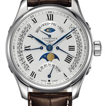 Longines Master Collection Staal 44mm Wit