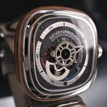 Sevenfriday Ocel 47mm Automatika SevenFriday P3/02 použité