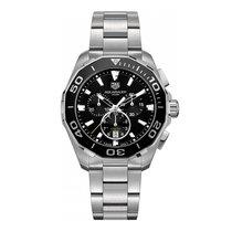 TAG Heuer Aquaracer Quartz Chronograph 43mm Mens Watch...