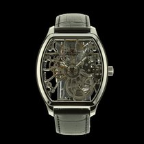 Claude Meylan Steel Manual winding Transparent 41mm new