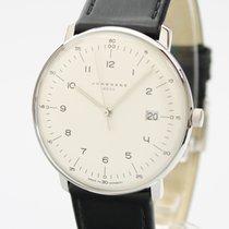 Junghans max bill MEGA Steel 38mm Silver Arabic numerals