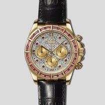 """Rolex Daytona 16588 """"Zenith"""" Sapphire baguette bezel - pavè dial"""