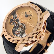 Dewitt Academia AC.8003.53. M122 Very good Rose gold 43mm Manual winding United States of America, California, Los Angeles