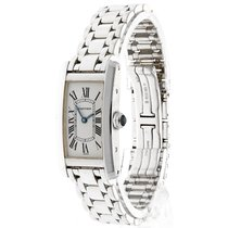 Cartier Tank Américaine tweedehands 20mm Witgoud