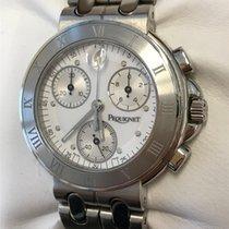Pequignet Chronograph ca. 40 mmmm Quarz 2008 gebraucht Moorea Silber (massiv)