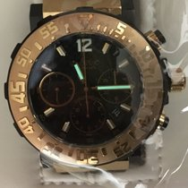 Paul Picot Rose gold 43mm Automatic 3930SRG new