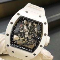 Richard Mille Keramiek 49.9mm Handopwind Rm055 Bubba Watson White ATZ Ceramic nieuw