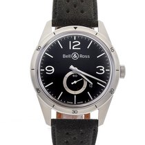 Bell & Ross BRV123-BS-ST/SF Steel Vintage 42mm pre-owned United States of America, Pennsylvania, Bala Cynwyd