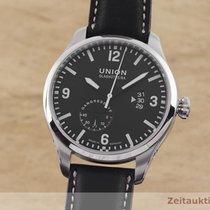 Union Glashütte Stahl 45mm Automatik D002.624A gebraucht