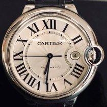 Cartier Ballon Bleu 42mm Staal 42mm Zilver Romeins