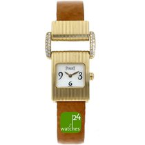 Piaget Protocole Yellow gold 17mm Mother of pearl Arabic numerals