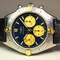 Breitling Callisto Acero y oro 36mm Azul Sin cifras