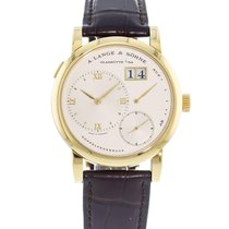 A. Lange & Söhne Yellow gold Manual winding Champagne 38.5mm pre-owned Lange 1