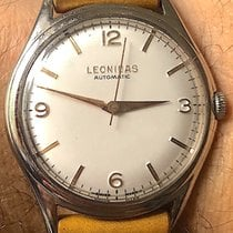 Leonidas Steel 37.5mm Automatic 1485-10/48552 pre-owned