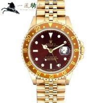 劳力士 GMT-Master 黄金 40mm 棕色