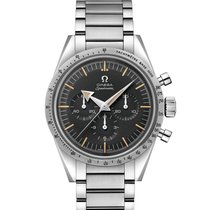 Omega Speedmaster Steel 38.6mm Black No numerals United States of America, Georgia, Alpharetta