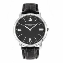 Baume & Mercier Classima Steel 39mm Black United States of America, Florida, Sarasota