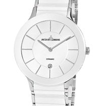 Jacques Lemans Steel 38mm Quartz 1-1855B new