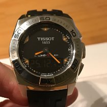 Tissot Racing-Touch Steel 43mm Black Arabic numerals