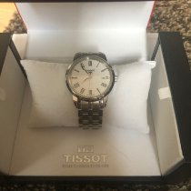 Tissot Classic Dream Steel 38mm White Roman numerals