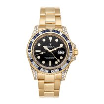 Rolex GMT-Master II 116758SA Very good Yellow gold 40mm Automatic