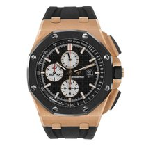 Audemars Piguet AP Offshore Chronograph 44mm Rose Gold Rubber ...