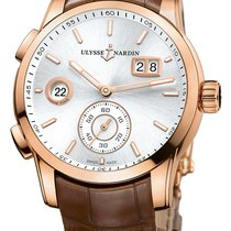 Ulysse Nardin Rose gold 2020 Dual Time 42mm new United States of America, New York, Airmont