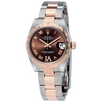 Rolex Lady-Datejust 178341 Choco Diamonds @ 6 Oyster Band 2019 new