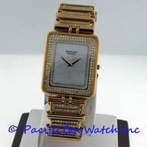Sarcar Yellow gold 27mm Quartz pre-owned United States of America, California, Newport Beach
