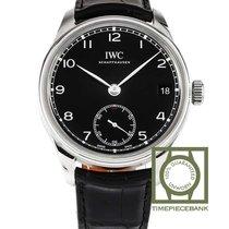 IWC Portuguese Hand-Wound Acier 43mm Noir Arabes