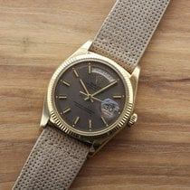 """Rolex oyster perpetual day-date. Rare """"wide boy"""" taupe..."""