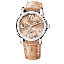 Ulysse Nardin 243-22/30-09 Dual Time Small Second 37mm in...