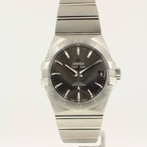 Omega Constellation Men Staal 38mm Grijs Romeins Nederland, The Netherlands