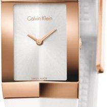 ck Calvin Klein 23mm Quarz neu Weiß