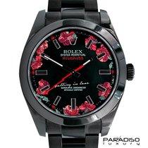 Rolex Milgauss 116400 BLACK VENOM LIMITED EDITION 4/5 DLC PVD...