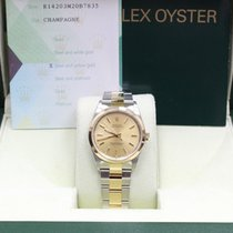 Rolex Oyster Perpetual 14203 18k Yellow Gold & Stainless Steel...