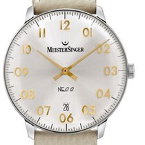 Meistersinger Neo Q Steel 36mm Silver