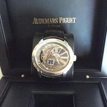 Audemars Piguet Millenary 4101 neu 2017 Automatik Uhr mit Original-Box und Original-Papieren 15350ST.OO.D002CR.01